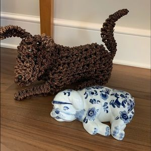 Ceramic Cantrom Puppy